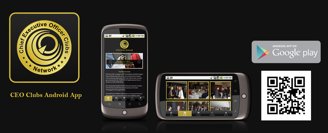 CEO Clubs launched it's first android application