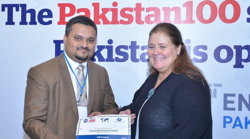 Pakistan 100 Award