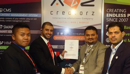 A2Z Creatorz Partnerships with Bahrain Based IT Company