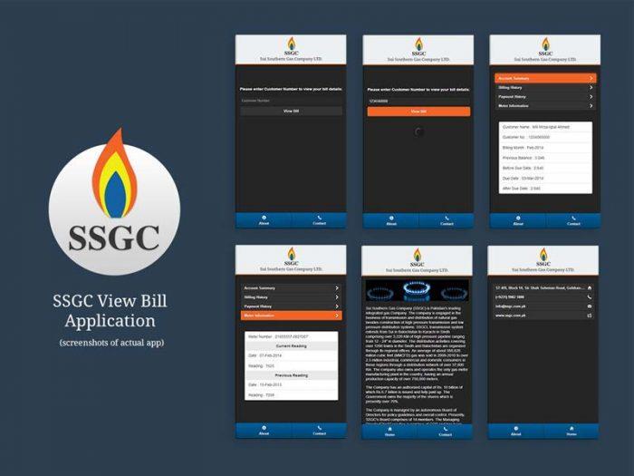 ssgc-bill-app